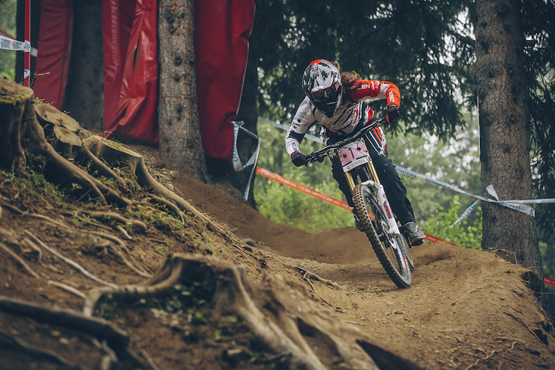 Madison Saracen World Cup Meribel The Last Stand - Article Live on Pinkbike now - Photo Laurence CE
