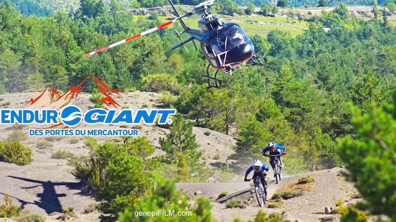 screenshot from my FS700 during the shooting of Enduro Giant des portes du Mercantour
