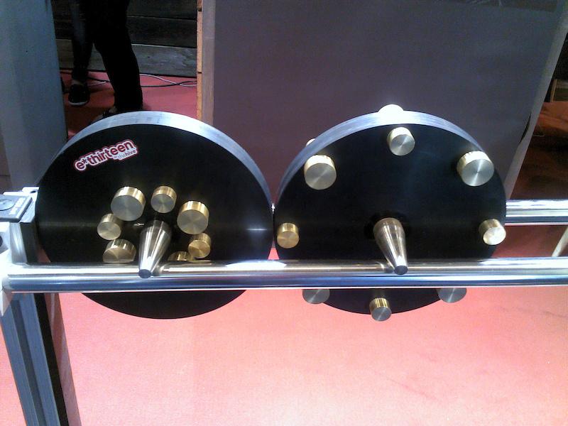 E-thirteen Inertia vs acceleration display 2014