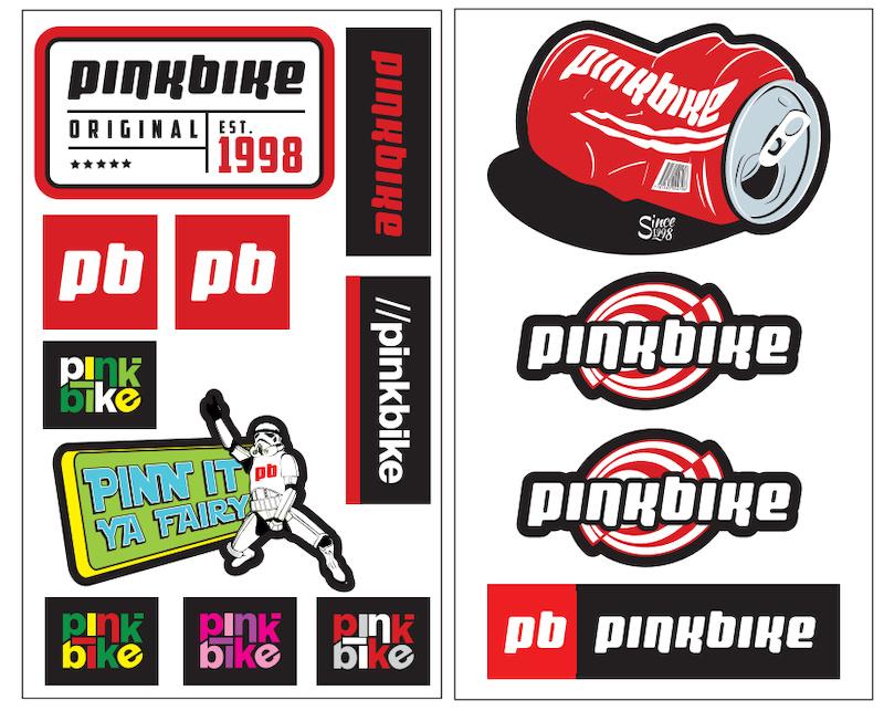 New PB sticker kits