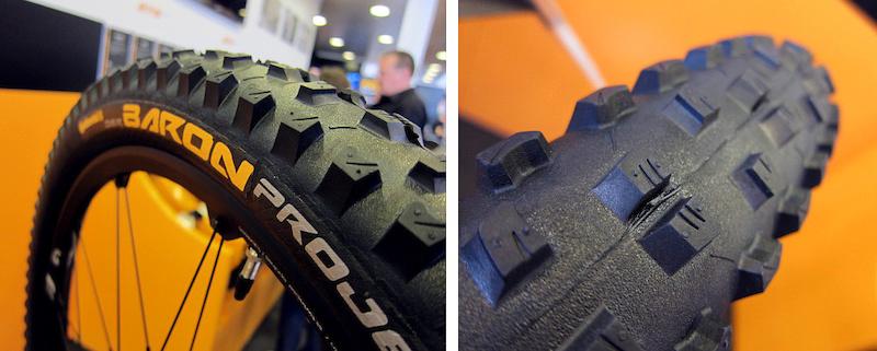 Contential Baron Projekt 2.5 prototype tire 2015