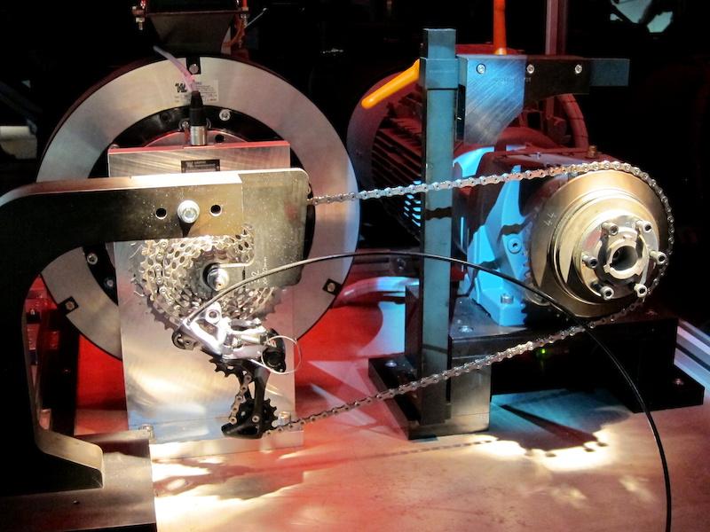 SRAM shift test machine 2014