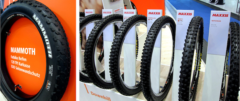 Maxxis Mammoth tire