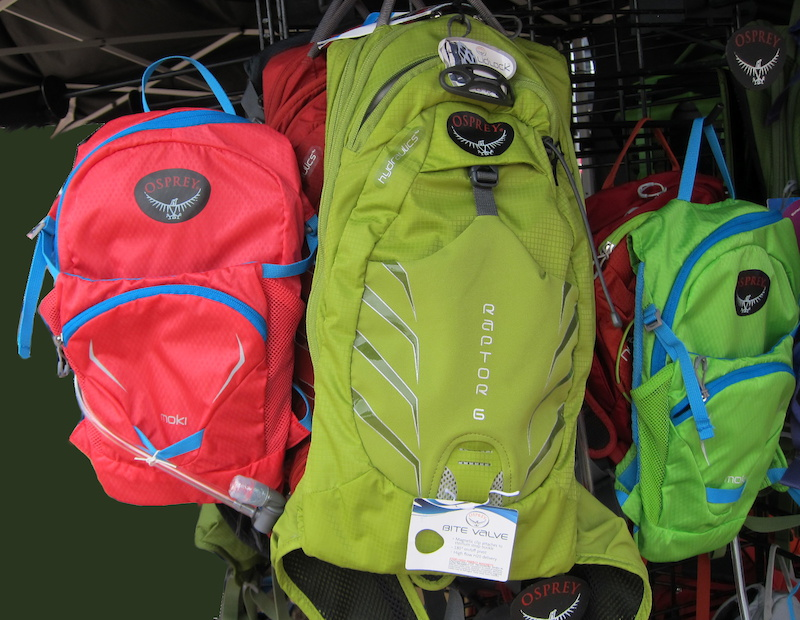 Osprey s Moki mini hydration pack is perfect for fast-paced XC trail rides but would make an awesome back-to-school pack for a lucky offspring 50 USD