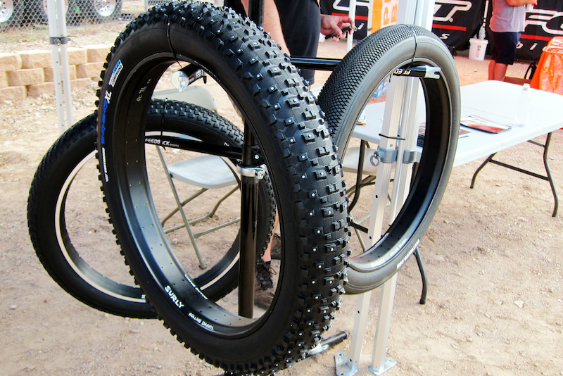 Vee Rubber s studded Snowshoe XL fatbike tire should get you through at least one Alaskan winter riding season - but you re gonna have to pay to play 400 a pair for the studded version and 350 a pair for the standard Snowshoes.