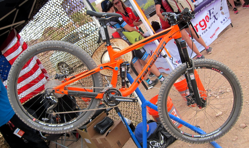 Transition Patrol Interbike Dirt Demo 2014