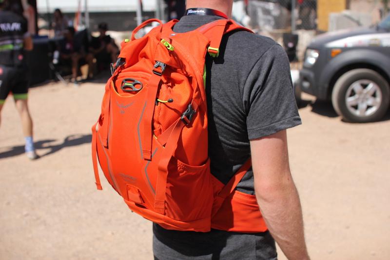 Osprey pack.