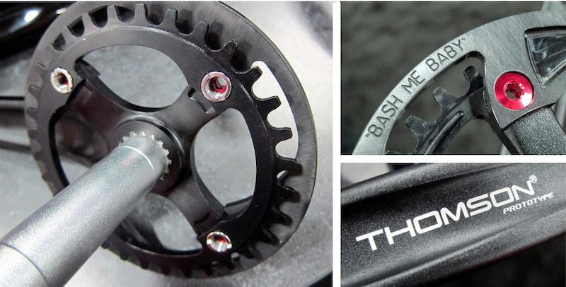 thomson prototype crankset interbike 2014
