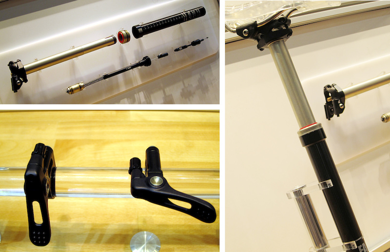 9point8 dropper seatpost Interbike 2014