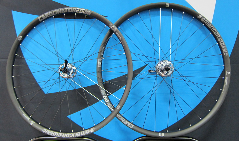 American Calssic Carbonator 27.5 AM wheelset Interbike 2014