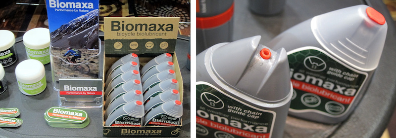 Biomaxa natural lubricant Interbike 2014