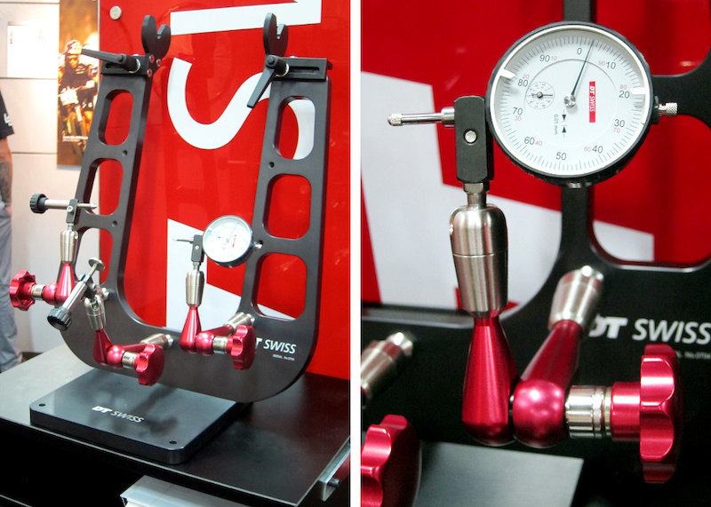 DT Swiss Professional wheel-truing stand Interbike 2014
