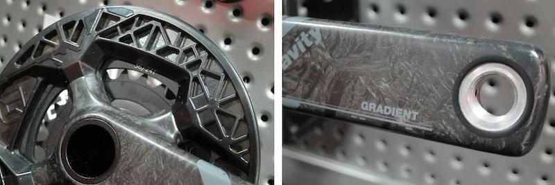 FSA Carbon gradient crankset Interbike 2014
