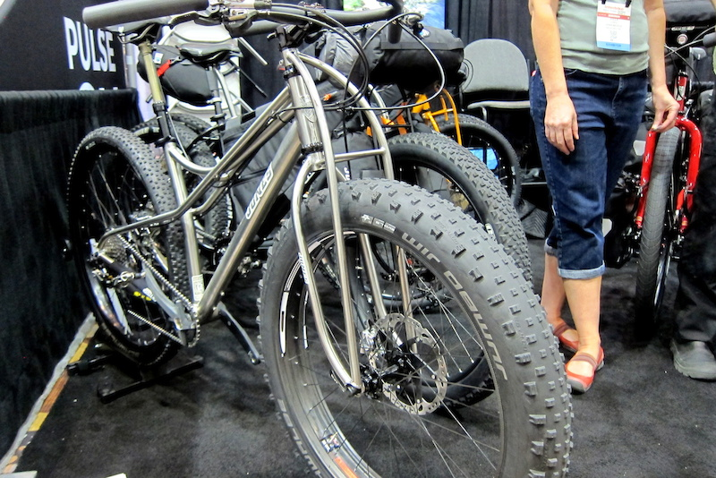 Jones titanium fatbike Interbike 2014
