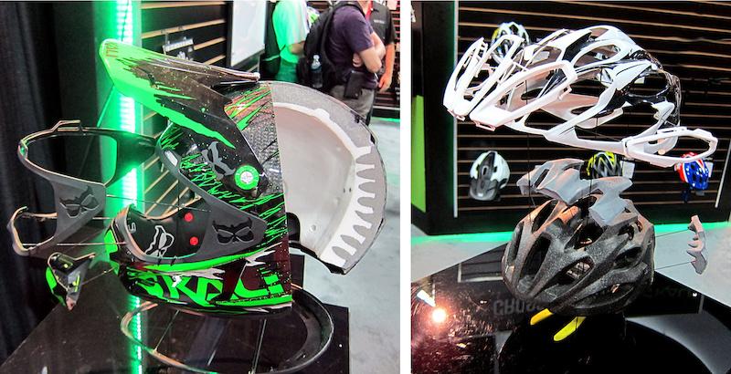 Kali cutaway helmets Interbike 2014