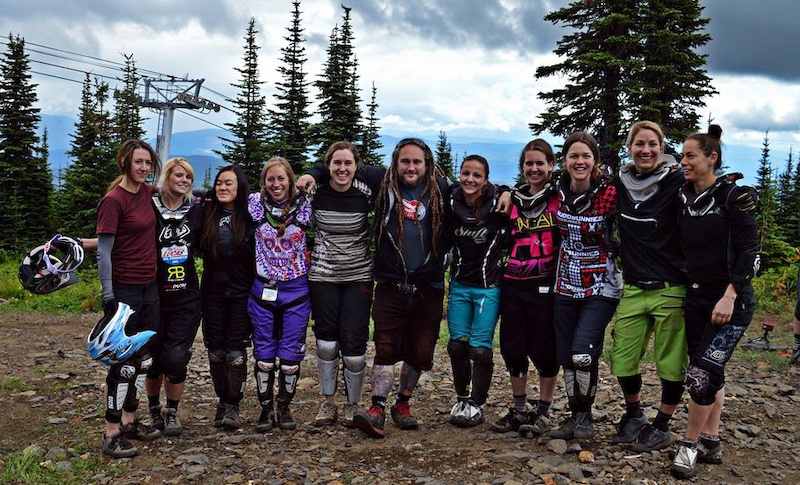 All the Citizen 19 ladies at the BC NW Cup in Silverstar BC