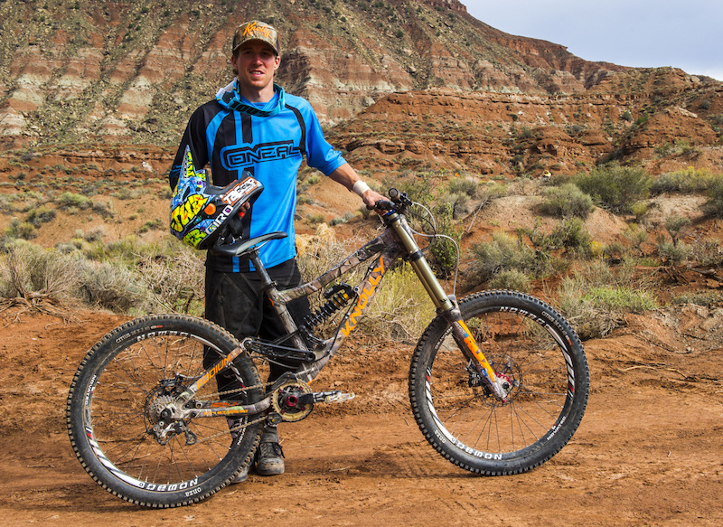 James Doerfling s Knolly Podium Red Bull Rampage 2014