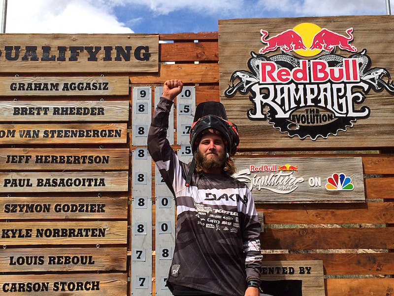 redbullbike Aggy 1st in Qualies photo Sterling Lorence