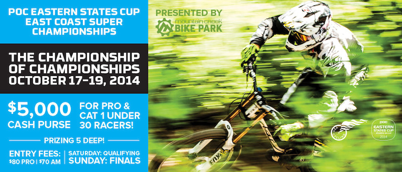 POC Eastern States Cup DH Two to Go and Three for the Money