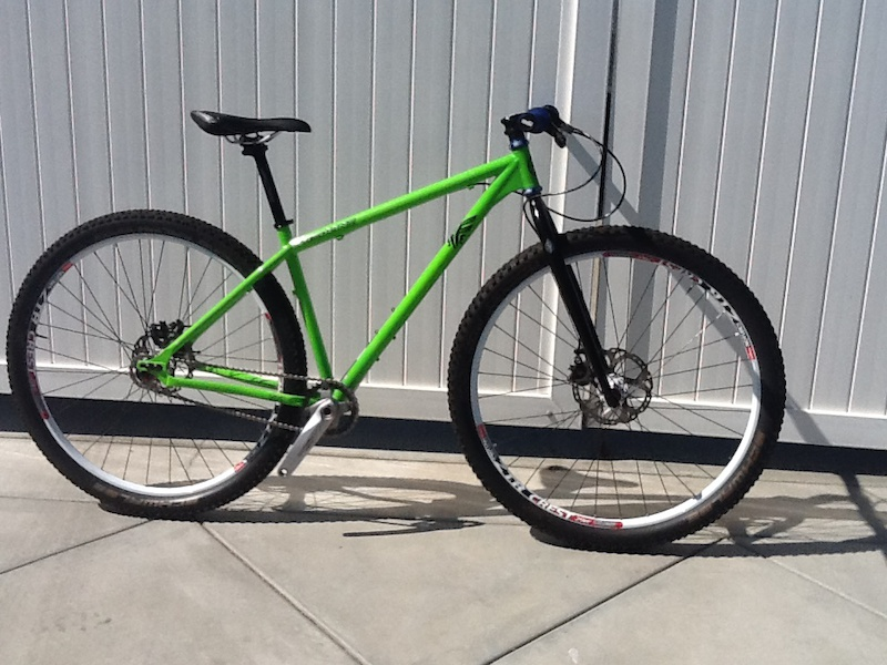 2012 Redline Monocog Flight Single Speed 29er Custom