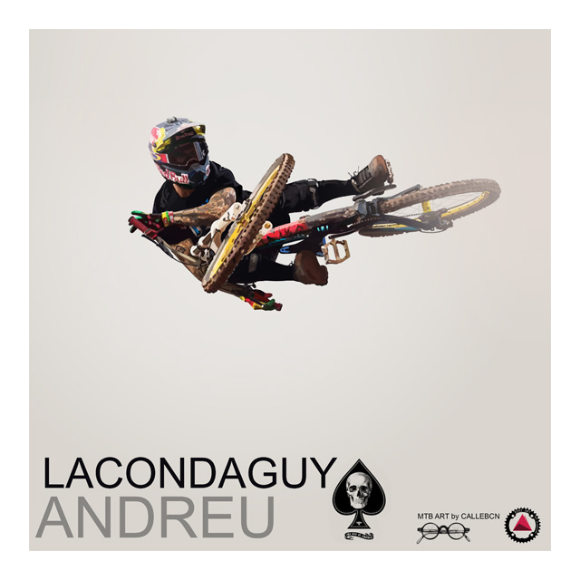 A tribute to this years Rampage winner, shredder Andreu. Photo reference, courtesy of John Gibson. www.gibsonpictures.com