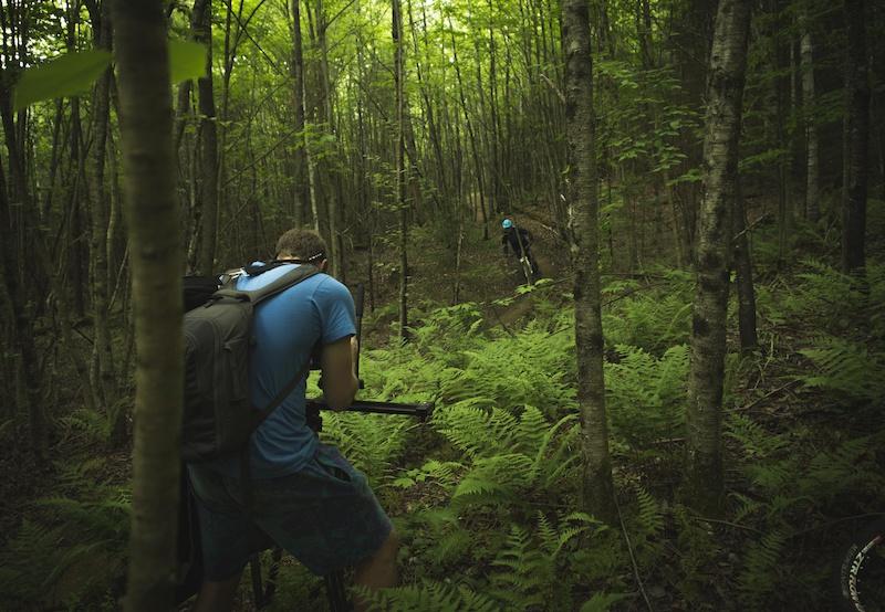 PR images for Kingdom Trails video