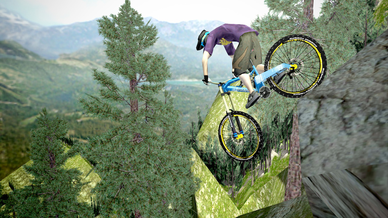 Shred Extreme Mountainbiking Game Out Now