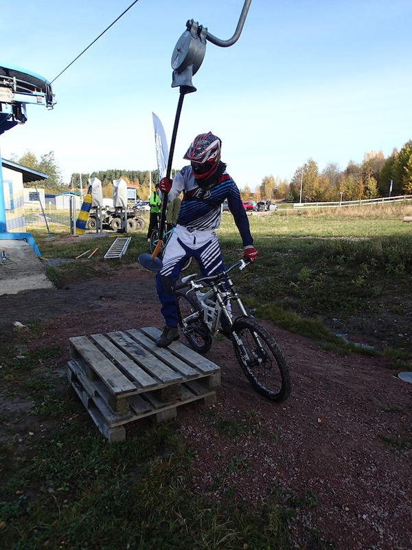 Vedbobacken bikepark first ride.