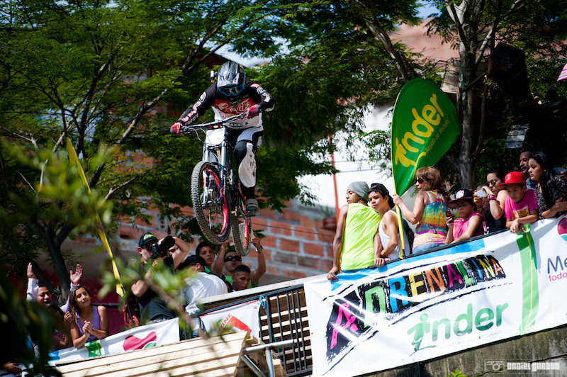 Marios from Ecuador loves coming back to the eternal spring town. UrbanBike Medellin 2014