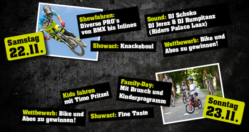 Indoor Bike Park Switzerland - Grand Opening