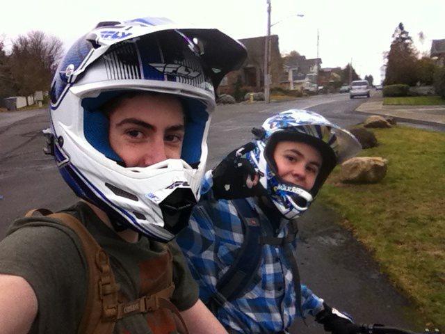 Riding to GHY Bikes!!