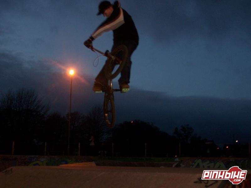 a clicked turndown ovet the box at perth
