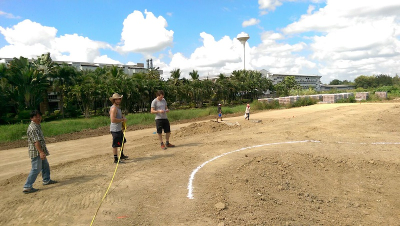 The fist Velosolutions asphalt pump track in Asia