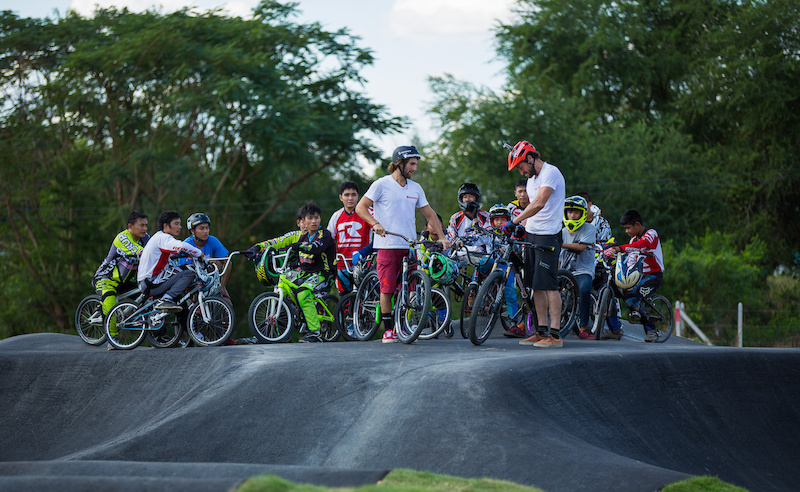 The first Velosolutions asphalt pump track in Asia