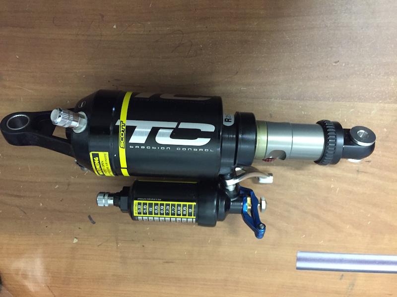 SCOTT Genius LTD TC Rear Pull Shock- NEW-RARE! For Sale