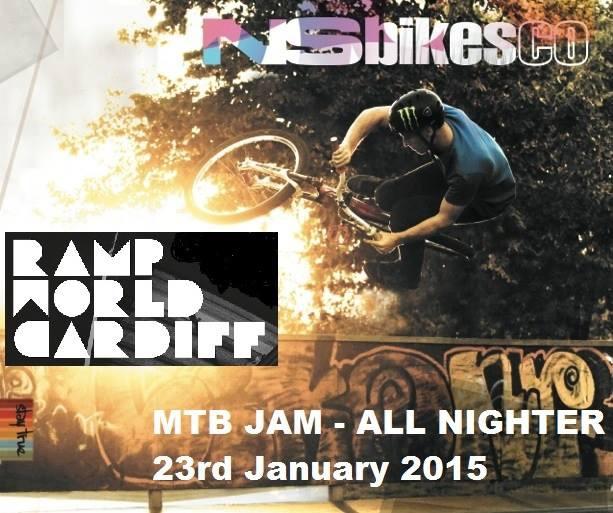 MTB Jam Rampworld Cardiff