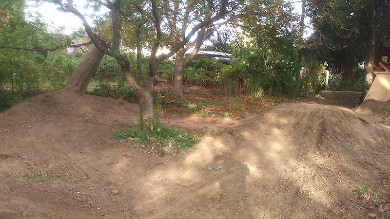 berm with a Tree ride going on