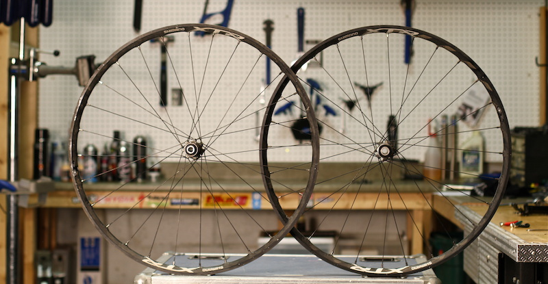 Shimano XTR Trail wheels review test