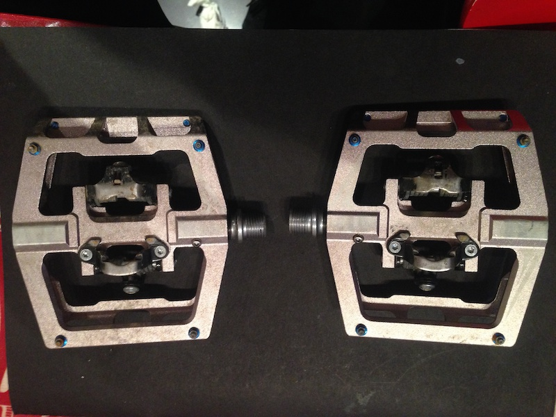 2015 Fun Mamba Double Sided Clipless Pedals For Sale