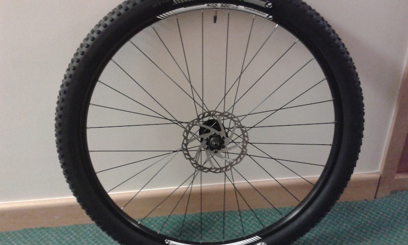 2014 Bontrager At 650 Double Walled Front Wheel Formula