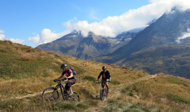 Climbing up from Simplon Pass