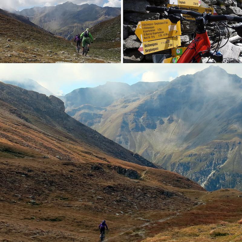 Descending from Bischtinu Pass
