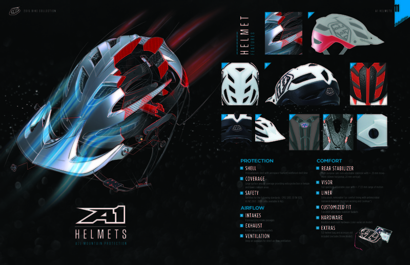 ded1e01b3 First Look  2015 Troy Lee Designs Helmet Collection - Pinkbike