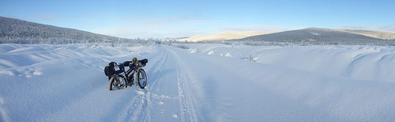 Despite the fatigue at this point I am feeling incredibly lucky to be riding a bike through the goldfields of the fabled Klondike with perfect weather. 650k from my front door in Whitehorse