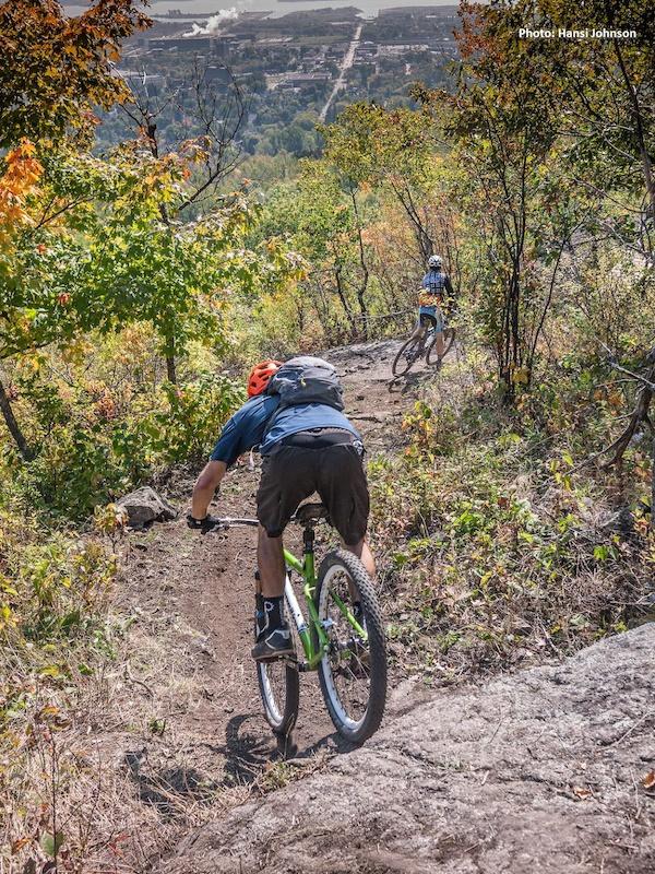 kissing booth mountain bike trail