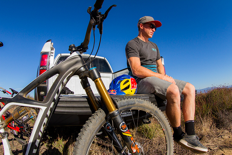 d4ffe74d215 Aaron Gwin, when he is not training, he is training...but for the easy ride,  just throw on some Wheels!