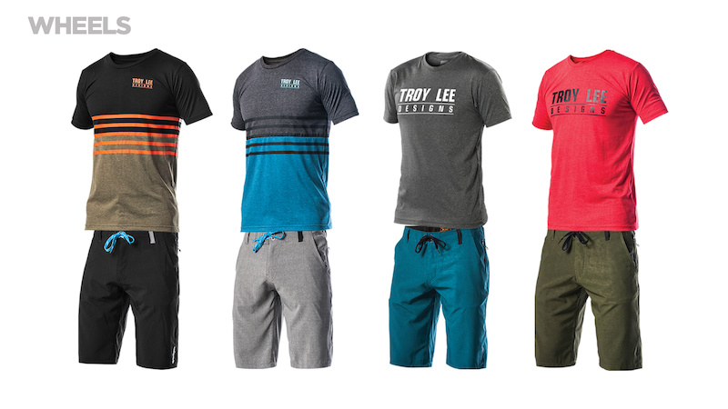 TLD Wheels Network Jersey and Connect Short