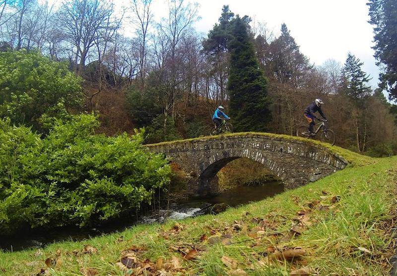 Scenic Tweed valley bridge