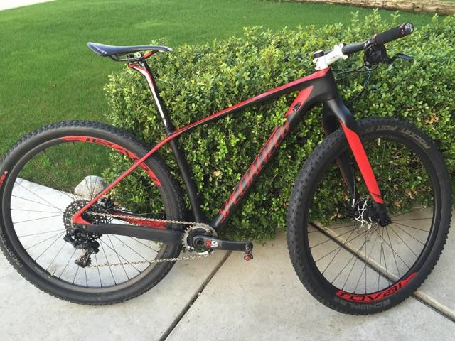 2014 Specialized Stumpjumper Expert Carbon Ht World Cup