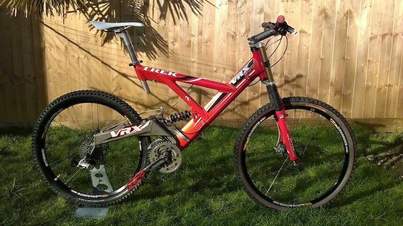 1999 Trek Vrx 500 Retro Dh Bike Trail Bike For Sale